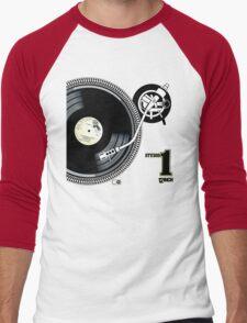 12Inch Vynil Men's Baseball ¾ T-Shirt
