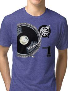 12Inch Vynil Tri-blend T-Shirt