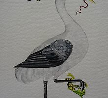 THE EARLY BIRD CATCHES THE WORM by Marilyn Grimble