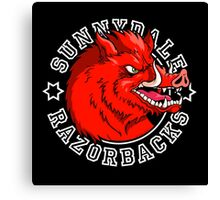 Sunnydale Razorbacks Canvas Print