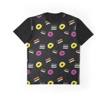 Liquorice Allsorts - Black Graphic T-Shirt