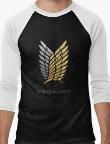 Survey Corps - Gold Silver Men's Baseball ¾ T-Shirt