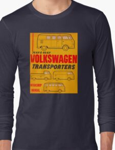Volkswagen Kombi Workshop Manual Long Sleeve T-Shirt
