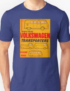 Volkswagen Kombi Workshop Manual Unisex T-Shirt