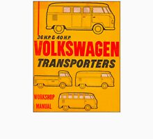 Volkswagen Kombi Workshop Manual Unisex T-Shirt