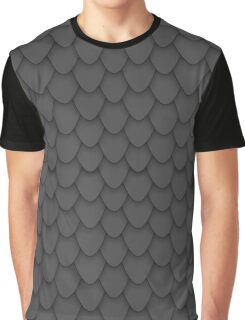 Black Dragon Scales Graphic T-Shirt