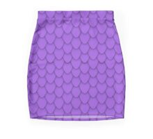 Purple Dragon Scales Mini Skirt