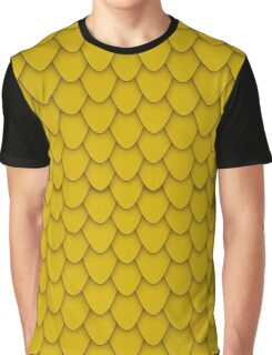 Gold Dragon Scales Graphic T-Shirt