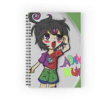 Adam-Kun!! !! Spiral Notebook