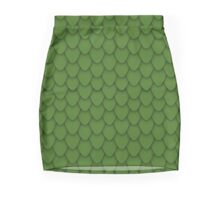 Green Dragon Scales Mini Skirt