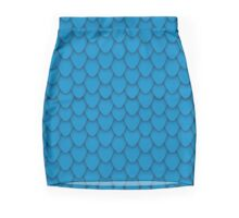 Blue Dragon Scales Mini Skirt