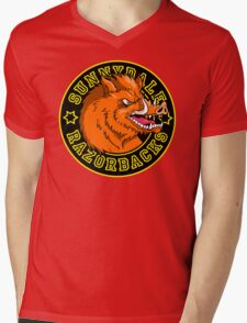 Sunnydale Razorbacks Mens V-Neck T-Shirt