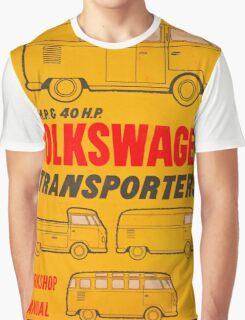 Volkswagen Kombi Workshop Manual Graphic T-Shirt