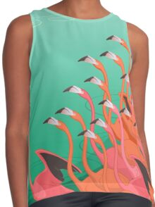Fresco of the flamingoes Contrast Tank