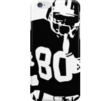 Jerry Rice black and white iPhone Case/Skin