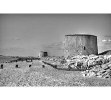 Martello Towers Photographic Print