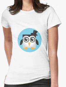 Pixel Penguin - Tophat Womens Fitted T-Shirt