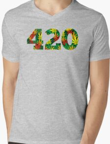 420 Mens V-Neck T-Shirt