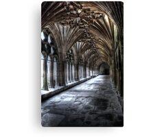 Stone corridor (2) Canvas Print