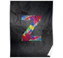 Fun Letter - Z Poster