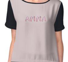 Anna Chiffon Top