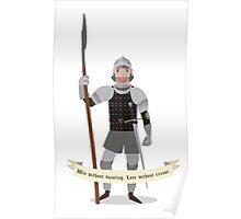 Medieval mercenary 7 Poster