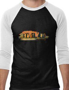 Stonehenge Men's Baseball ¾ T-Shirt