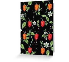 naughty habanero Greeting Card