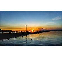 Italian Sunset Photographic Print