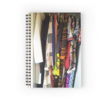 Recycled fashion Spiral Notebook
