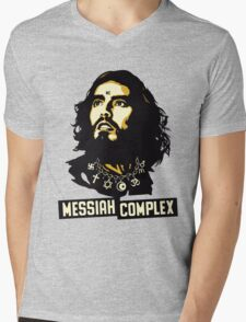 RUSSELL BRAND MESSIAH COMPLEX Mens V-Neck T-Shirt