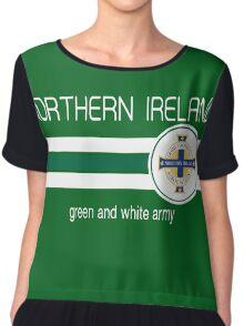 Euro 2016 Football - Northern Ireland Chiffon Top
