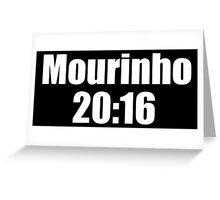 Manchester United - Mourinho 20:16 Greeting Card