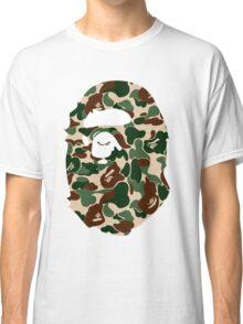 bape logo army Classic T-Shirt