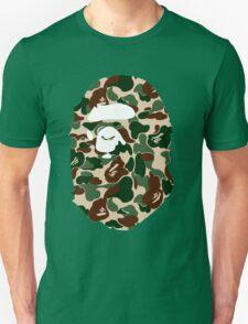 bape logo army Unisex T-Shirt