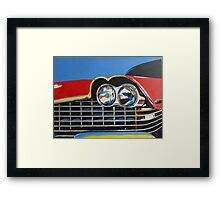 Plymouth Fury Front Painting Framed Print
