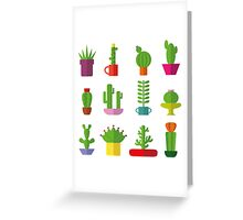 Funny Cactus  Greeting Card