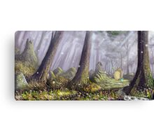 Totoro's Forest Canvas Print