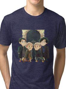 Sherlock - Past and present Tri-blend T-Shirt