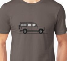 Land Rover Defender 110 Station Wagon DMC Unisex T-Shirt