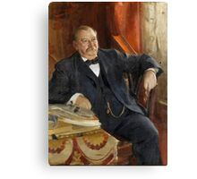 Anders Zorn, Grover Cleveland Canvas Print