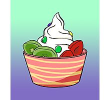 Frozen Yoghurt Photographic Print