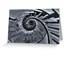 Spiral Staircase Greeting Card