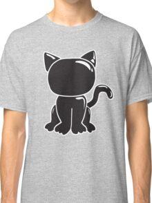Black Latex Kitten Classic T-Shirt