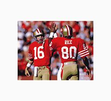 Jerry Rice and Joe Montana Unisex T-Shirt