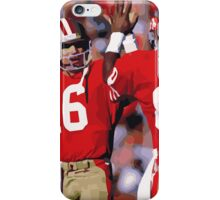 Jerry Rice and Joe Montana iPhone Case/Skin