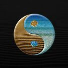 sand and water yin yang by Fran E.