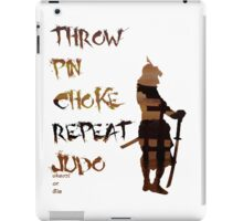 The General's orders iPad Case/Skin