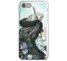 The Mad Hatter & Skull (Pandora Hearts) iPhone Case/Skin