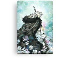 The Mad Hatter & Skull (Pandora Hearts) Canvas Print
